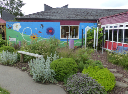 photo of Lottie's garden at Holtspur School